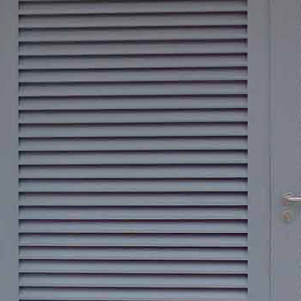 Metal Doors And Windows Louvers Maxsteel